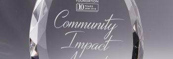 Community Impact Awards Presentation